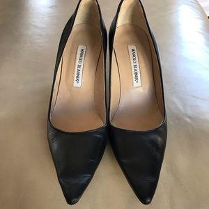 Manolo Blahnik Black Shoes